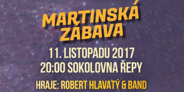 Martinská zábava v Sokolovně!